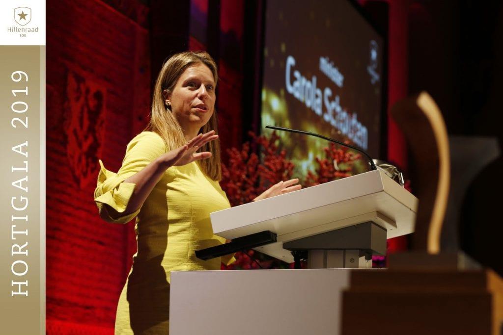 01 Minister Carola Schouten speecht tijdens Hortigala 2019_S3W1888 (Groot)